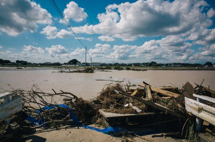 鬼怒川氾濫