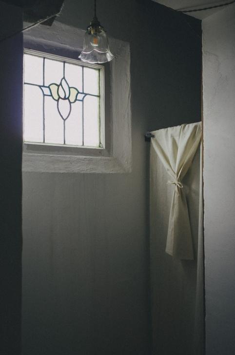シンプルなカーテン