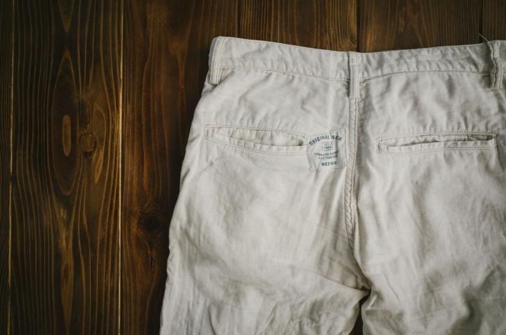 お気に入りのズボンとアップリケ