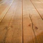 無垢床の乾燥による縮み