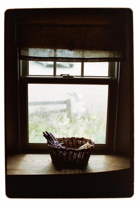 窓辺の景色も秋の気配