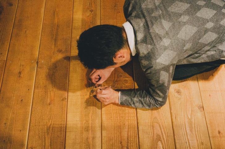 床板のフシ救出作戦