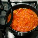 自家製トマトジュース