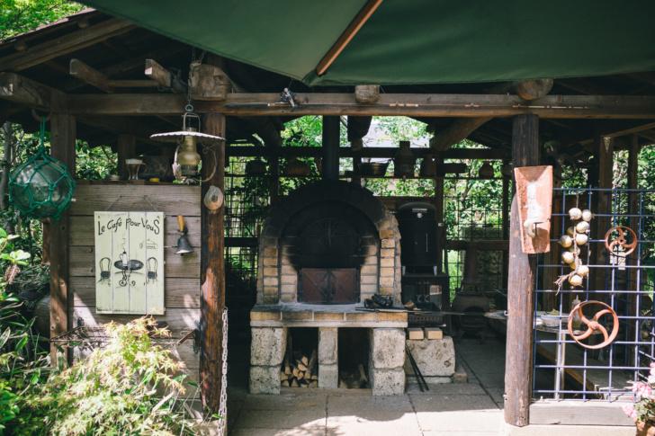 雑木林に囲まれたcafe & garden『玄蕃ファーム』